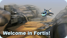Fortis title screen